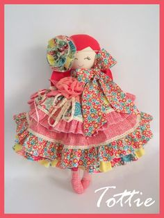 Tottie, by Trellis Design Dolls