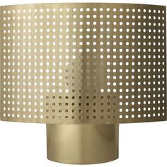 perforated wall sconce  | CB2