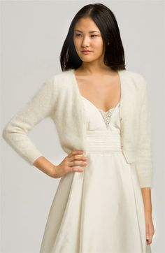 Eliza J 'Kate' Sweater | Nordstrom $88 - i wore this at my wedding.