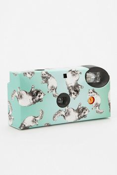 Joyride! 15 Car Accessories To Endure Endless Summer Traffic #refinery29  http://www.refinery29.com/car-accessories#slide5  Urban Outfitters Disposable Camera, $14, available at Urban Outfitters.