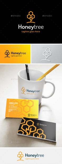 Honey Tree - Logo Design Template Vector #logotype Download it here: http://graphicriver.net/item/honey-tree-logo/11872580?s_rank=695?ref=nexion
