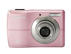 Olympus FE-26 12MP Digital Camera with 3x Optical Zoom and 2.7 inch LCD (Pink). 12-megapixel resolution for photo-quality prints up to 20 x 30 inches. 3x optical zoom; 2.5-inch LCD. Capture images to xD-Picture Card or microSD (not included).