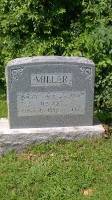 Genealogical Gems: Tombstone Tuesday: Samuel Guy & Edna Miller