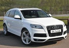 All luxury car hire made possible in London,As De-luxe car hire is providing car hire services throughout London,UK.Now hire a Audi London at economy price and wedding car hire services are also available.