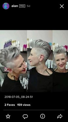 Beautiful Short Bob Hairstyles And Haircuts With Bangs - This Way Come Edgy Short Hair, Short Hair Cuts, Short Hair Styles, Pixie Haircut, Hairstyles Haircuts, Cool Hairstyles, Hair Today Gone Tomorrow, Pelo Pixie, Corte Y Color