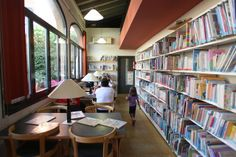 CALDES DE MALAVELLA. Biblioteca Francesc Ferrer i Guàrdia de Caldes de Malavella 051 | Flickr: Intercambio de fotos