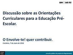 No âmbito do Fórum de Reflexão Ativa, organizado pelo Envolve-te! no dia 7 de maio de 2016, em Coimbra (Conservatório de Música), foi desenvolvida a apresentaç…