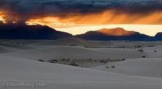 Beautiful sunset at White Sands!