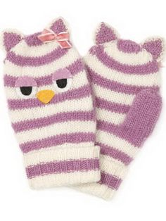 Baby Winter Mittens Knitting Pattern Pictures