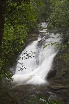 Sea Creek Falls, Cooper Creek, Fannin County, GA