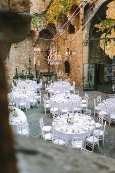 Photography: Alessio Quartaroli & Marta Puglia - studioaq.com Wedding Venue: Castello Di Vincigliata - castellodivincigliata.it   Read More on SMP: http://www.stylemepretty.com/destination-weddings/2015/01/13/elegant-tuscany-castle-wedding/