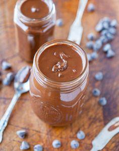 Homemade Chocolate Peanut Butter in 10 Minutes (Vegan, GF) averiecooks.com