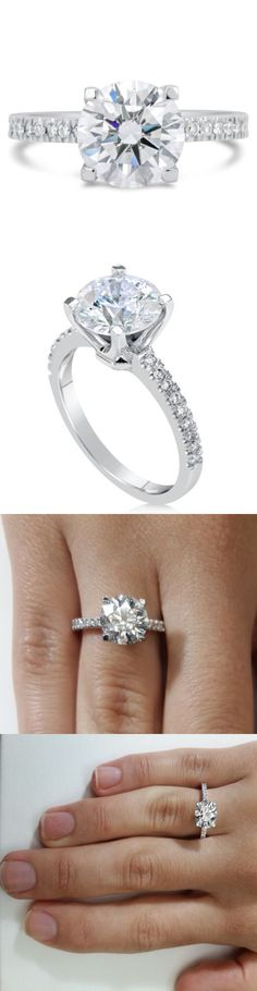 Diamond 67726: 1.74 Ct Round Cut D Vs2 Diamond Solitaire Engagement Ring 14K White Gold -> BUY IT NOW ONLY: $2117.5 on eBay!