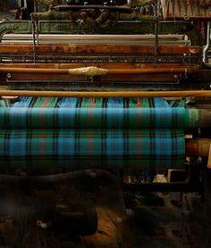 Tartan Weaving in Lochcarron,Scotland