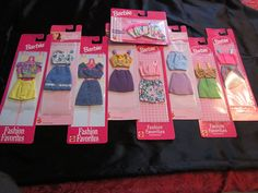 Afbeeldingsresultaat voor Barbie fashion favorites