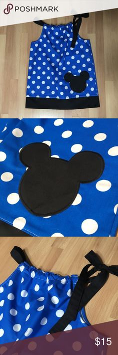"NWT Mickey Pillowcase Dress 12-24 Months New with tags. 12 -24 months. Measures 17"" shoulder to hem. Dresses"