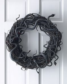 Snake Wreath holiday-decorations