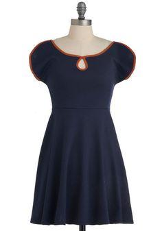 Sail With Me Dress, #ModCloth