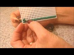 How to make continental stitch & overcast stitch - YouTube