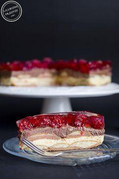Lodowiec - ciasto idealne :) http://ulubioneprzepisy.com/2015/07/31/ciasto-lodowiec/