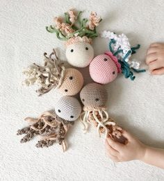 Crochet toy for preemie, Crochet jellyfish new baby gift, Crochet toy for newborn, Crochet Newborn props set Crochet Gifts, Cute Crochet, Crochet Toys, Crocheted Jellyfish, Crochet Octopus, Preemie Crochet, Newborn Crochet, Newborn Toys, Crochet Animal Patterns