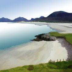 Ian LEDWARD-Hebridean Beach