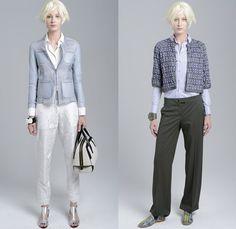 Emporio Armani 2014 Resort Womens Presentation - 2014 Pre Spring Cruise Pre Collection: Designer Denim Jeans Fashion: Season Collections, Runways, Lookbooks and Linesheets