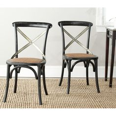 Found it at Wayfair.co.uk - Raleigh X Back Side Chair