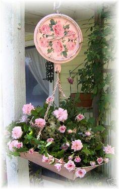 Shabby Chic: Spring  Roses