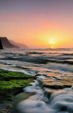 Ke'e Sunset, Kauai