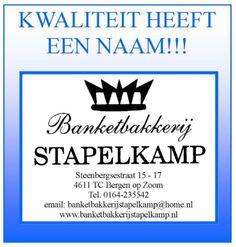 Banketbakkerij Stapelkamp is een van de deelnemers.