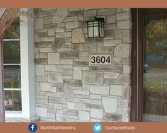 A beautiful combination for any home's exterior. Creates a classic, one of a kind look. #stone #stoneveneer #home #design