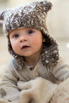 Winter baby - the cuteset baby knit hat