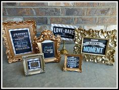 QUOTE frames- memorabilia  Get Teresa Collins products at #craftysteals