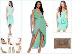 vestidos dama de honor color coral - Buscar con Google