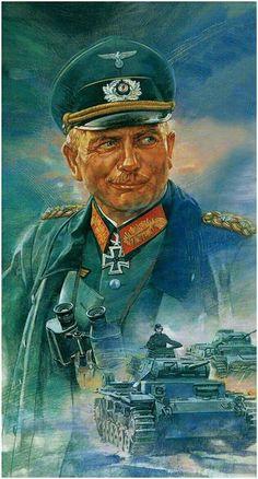 Generaloberst der Panzertruppe Heinz Guderian.