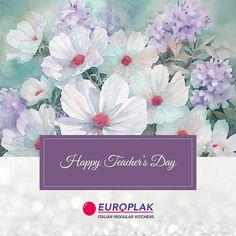We all will always be thankful to you for all the hard work & efforts that you have put in to educate us.  Europlak India Wishing you all Happy Teacher's Day!! #EuroplakIndia #HappyTeacherDay