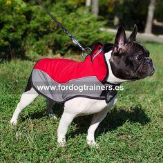 """Abrigo nylon Bulldog francés paseos largos """"Capa chubasquero"""" -> 34,70 €"""