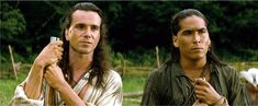 the last of the mohicans material, Daniel and Erik Schweig