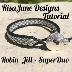 RisaJane Designs Tutorial Robin Jill  SuperDuo by RisaJaneDesigns
