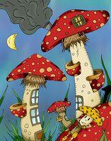 Mushrooms by ~RenGMK on deviantART  (2007-2012)