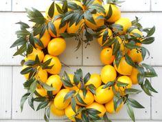 Lemon Lemon Wreath