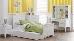 Sienna 3 Piece Single Bedroom Suite