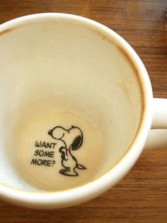 want some more Snoopy mug