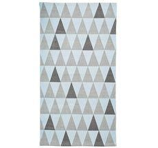 Bloomingville NEU Teppich Grey/Blue