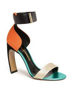 Nicholas Kirkwood curved heels