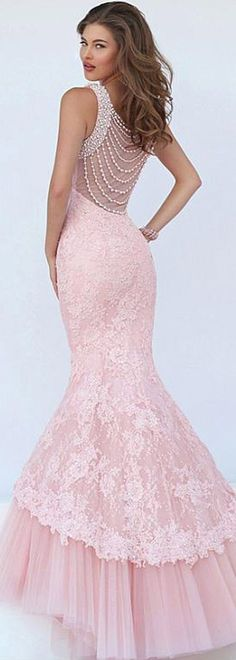 Fantastic Tulle   Satin Jewel Neckline Mermaid Evening Dresses With Lace  Appliques Sexy Dresses de256bb1a2