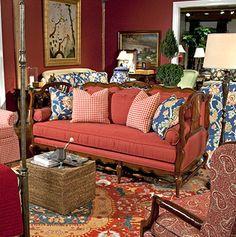 Bon Highland House Furniture: 4110 84   GERBE SOFA