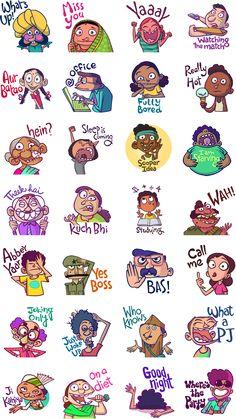 Chumbaks Back Stickers