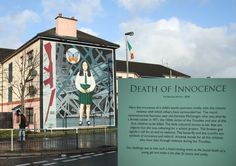 'The Death of Innocence' mural